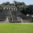 Stock Photo: Temple of Inscriptions, ancient Maycity of Palenque (Mexico)
