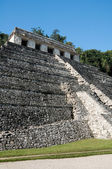 Temple of Inscriptions, ancient Mayan city of Palenque (Mexico) — Stock Photo