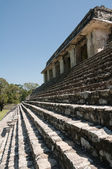 The palace,ancient Mayan city of Palenque (Mexico) — Stock Photo