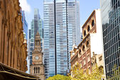 Sydney Town Hall and Queen Victoria Building (Australia) — Stock Photo