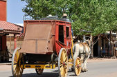 Stagecoach in Tombstone, Arizona — Stock Photo