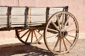 Antique wagon in Tombstone, Arizona — Stock Photo