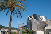 Guggenheim Museum on June 12, 2013 in Bilbao, Spain  The museum was designed by Frank Ghery — Stock Photo