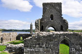 Devenish Island Monastic Site, Co Fermanagh, Northern Ireland — Foto de Stock