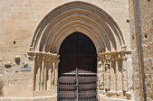 Porch of the church of San Juan Bautista, Laguardia, Alava — Stok fotoğraf