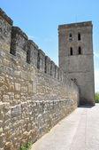 Abacial tower and wall of Laguardia, Alava (Spain) — Stock Photo