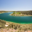 Conceja lagoon, Ruidera Natural Park, Castilla La Mancha (Spain) — Stock Photo #46688417