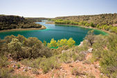 Conceja lagoon, Ruidera Natural Park, Castilla La Mancha (Spain) — Stock Photo