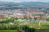 Panorama of the downtown of Vitoria, Spain — Stock Photo