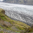 Skaftafell glacier, Vatnajokull national park, Iceland — Stock Photo #49212727