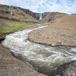 Hengifoss waterfall, Iceland — Stock Photo #49213433
