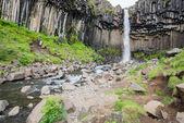 Svartifoss Waterfall, Iceland — Stock Photo