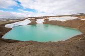 Viti crater at Krafla geothermal area, Iceland — Stock Photo