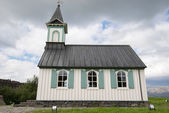 Thingvellir church, Iceland — Stock Photo