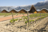 The modern winery of Ysios on May 9, 2014 in Laguardia, Basque Country, Spain — Stock Photo