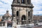 Belfry of the Metropolitan Cathedral, Mexico City — Stock Photo
