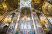 Church of the Savior on Spilled Blood in St. Petersburg (Russia) — Stock Photo