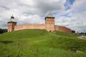 Novgorod Kremlin in Veliky Novgorod, Russia — Stock Photo