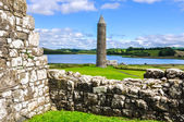 Devenish Island Monastic Site, Northern Ireland — Stock Photo