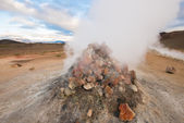 Geothermal area of Hverir, Iceland — Stock Photo