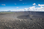 Hverfjall crater in Myvatn area, northern Iceland — Stock Photo