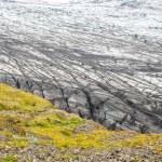 冰岛瓦特纳冰原国家公园、 卡福特冰川 — 图库照片 #51164431