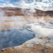 Mud Pots in the geothermal area Hverir, Iceland — Stock Photo #51165437