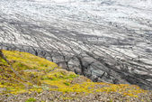 Skaftafell glacier, Vatnajokull national park, Iceland — Stock Photo