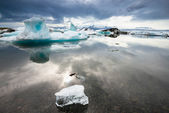 Jokulsarlon Glacier Lagoon, Iceland — Stock Photo