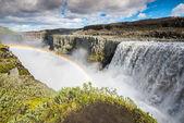 Dettifoss waterfall, Vatnajokull National Park, Iceland — Stock Photo