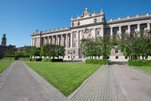 Parliament House, Stockholm, Sweden — Stock Photo