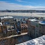cidade de Quebec — Foto Stock