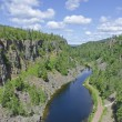 Canyon near Thunderbay — Stock Photo