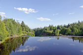 река kaministiquia — Стоковое фото