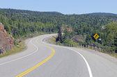TransCanada highway — Stock Photo