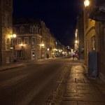 Street of Quebec Old city — Stock Photo