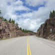 TransCanada highway — Stock Photo
