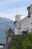 Fästningen hohensalzburg castle — Stockfoto
