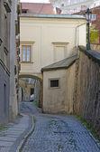 Wąska uliczka — Zdjęcie stockowe