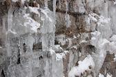 Roche et glace — Photo