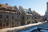 Street of Old Quebec city — Stock Photo