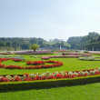 Stock Photo: Gardens at Schonbrunn Palace Vienna