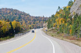Trans Canada Highway — Stock Photo