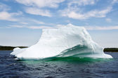 Bright white iceberg — Stock Photo