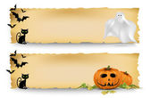 Halloween banners — Vetorial Stock