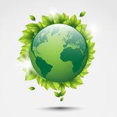 Eco world — Stock Vector