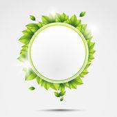 Ecology circle — Stock Vector