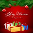 Royalty-Free Stock  : Red Christmas card