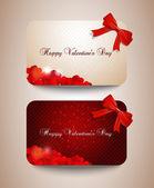 Cartes de la saint-valentin — Vecteur