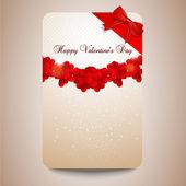 Valentines opmerking — Stockvector